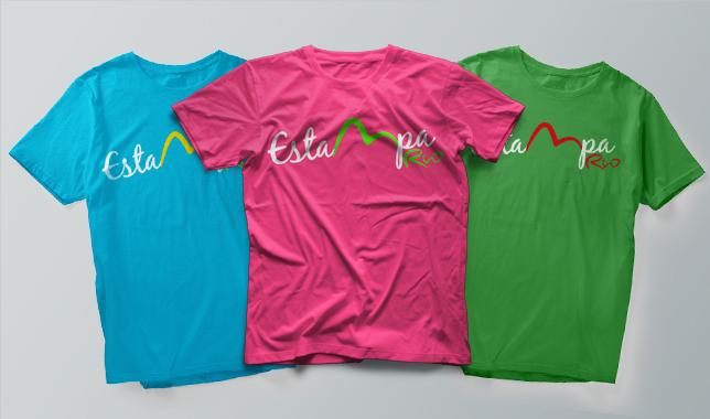 Confecção de Camisas personalizadas RJ - Estampa Rio 5763bd65242