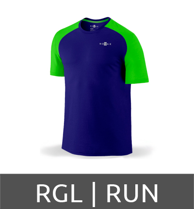 Camiseta dry fit raglas